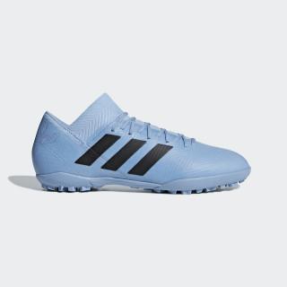 Calzado de Fútbol NEMEZIZ MESSI TANGO 18.3 TF ASH BLUE S18/CORE BLACK/RAW GREY S18 DB2221