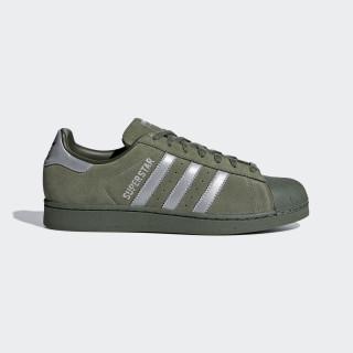 Superstar Schuh Base Green / Supplier Colour / Night Cargo B41988