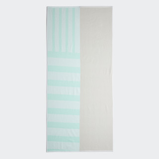 Beach Towel Clear Mint / Raw White DQ1822