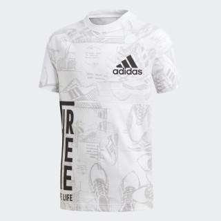 ID Print T-Shirt White / Grey Two DJ1441