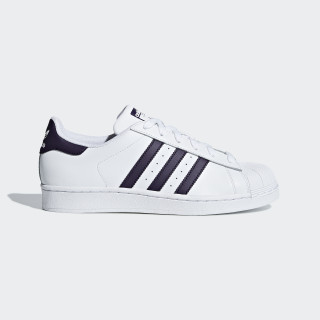 Superstar Schoenen Ftwr White / Legend Purple / Core Black DB3346