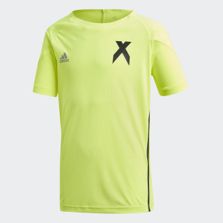 X trøje Solar Yellow / Black DJ1265