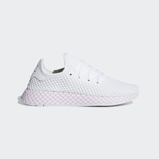 Deerupt Shoes Ftwr White / Ftwr White / Clear Lilac B37601