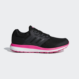 Zapatilla Galaxy 4 Core Black / Core Black / Shock Pink B44711