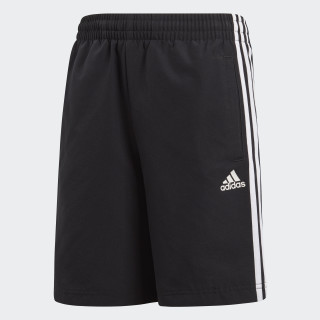 Essentials 3-Streifen Shorts Black BQ2828
