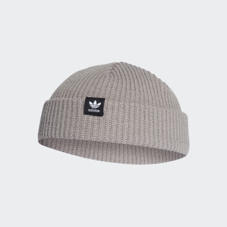 Trefoil Fisherman Beanie Mgh Solid Grey D98948