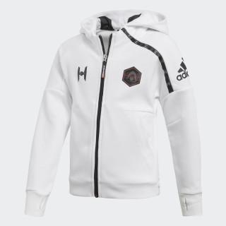 Hoodie Star Wars White/Black CW0757