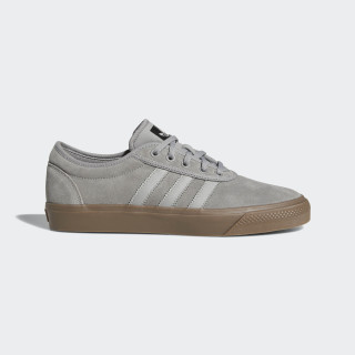 Adiease Shoes Charcoal Solid Grey / Multi Solid Grey / Gum B27796