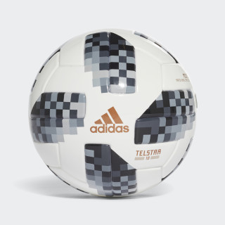 Minibola FIFA World Cup 2018 WHITE/BLACK/SILVER MET. CE8139