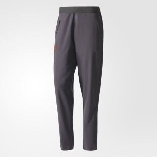 Pantalon de présentation Manchester United FC Utility Black/Bright Red AP7478