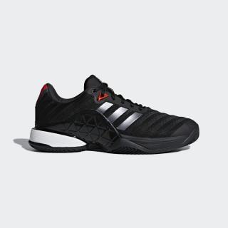 Sapatos de Terra Batida Barricade 2018 Core Black / Night Met. / Scarlet CM7831