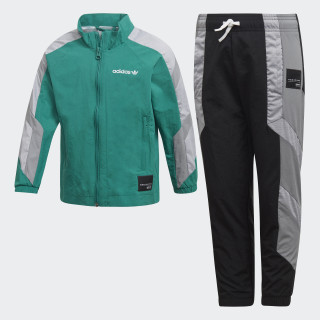 EQT Track Suit Sub Green / Grey Three / White D98873