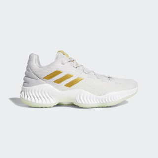 Pro Bounce 2018 Low Shoes Aero Green / Gold Met. / Grey Two B41863