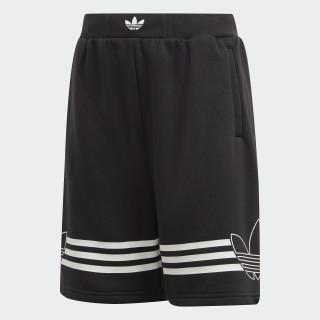 Outline Shorts Black / White DW3863