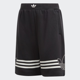 Short Outline Black / White DW3863