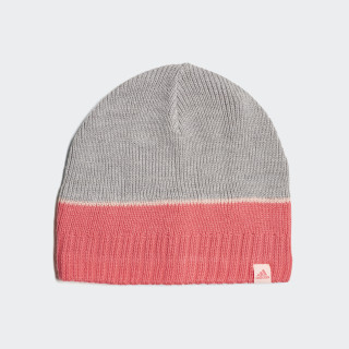 Berretto Striped Medium Grey Heather / Super Pink / Haze Coral DJ2269