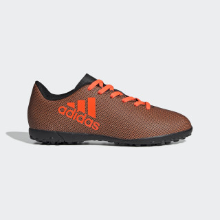 Calzado de Fútbol X 17.4 Césped Artificial CORE BLACK/SOLAR RED/SOLAR ORANGE S82422