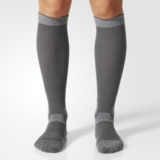 Running Energy Compression Socks 1 Pair Grey/Reflective Silver BS1646