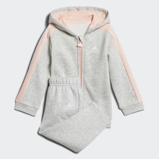 YOUTH/BABY JOGGER I 3S FZHD J FL LIGHT GREY HEATHER/HAZE CORAL/WHITE LIGHT GREY HEATHER/WHITE/HAZE CORAL S17 DJ1547