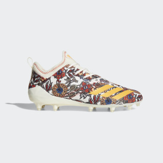 adizero Cleats Off White / Real Gold / Hi-Res Red CQ0310