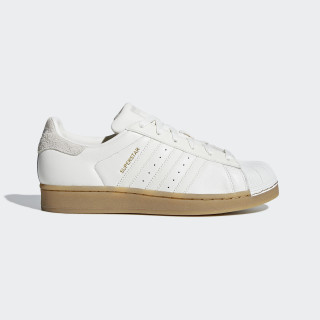 Superstar Schuh Cloud White / Cloud White / Gum4 B37147