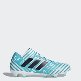 Scarpe da calcio Nemeziz Messi 17.1 Firm Ground Turquoise/Footwear White/Legend Ink/Energy Blue BY2406