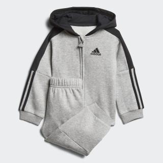 Logo Hooded Fleece Jogger Medium Grey Heather / Black DJ1585