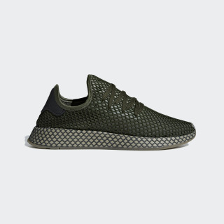 Deerupt Runner Shoes Base Green / Base Green / Orange B41771