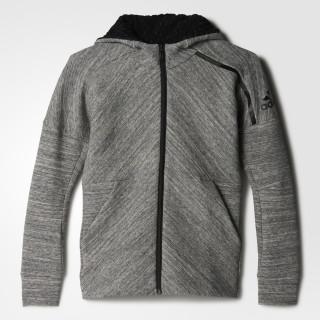 adidas Z.N.E. Travel Hoodie Storm Heather/Medium Grey Heather/Black BP8657