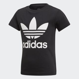 Camiseta Trifolio BLACK/WHITE CD8439