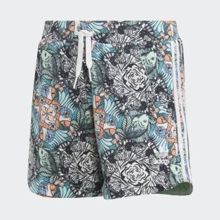 Zoo Shorts Multicolor / White D98911