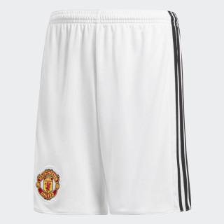 Pantaloneta de Local Manchester United WHITE/BLACK AZ7579