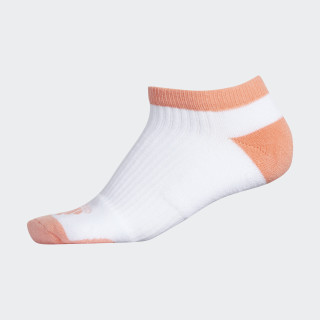 Comfort Low Golf Socks White / Chalk Coral CG0726
