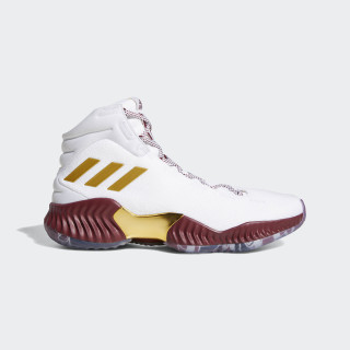 Pro Bounce 18 Shoes Porziņģis ftwr white / gold met. / collegiate burgundy F36937