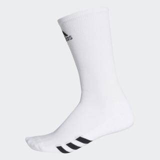 Golf Crew Socks 3 Pairs White CF8411