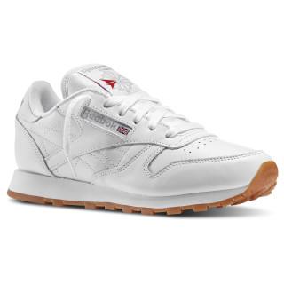 Classic Leather White / Gum 49801