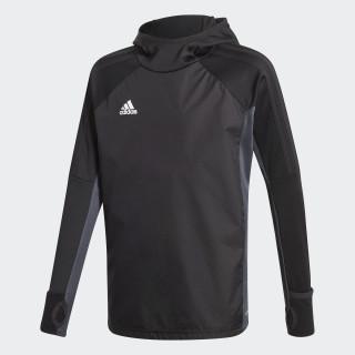 Tiro 17 Warm Sweatshirt Black/Dark Grey/White AY2868