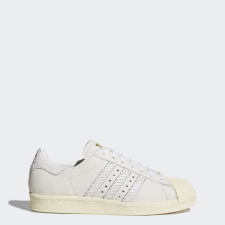 Superstar 80s Shoes Black / Black / Cream White BY9075