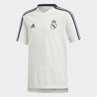 Real Madrid Training Shirt Core White / Tech Onix CW8667