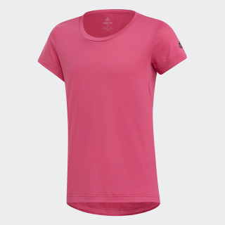 Polera de Training Prime REAL MAGENTA DJ1099
