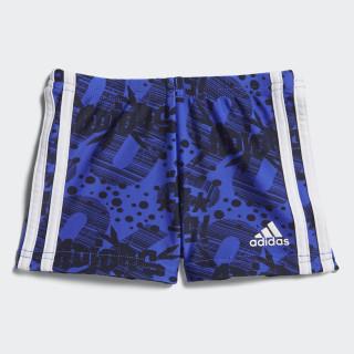 Sunga Boxer HI-RES BLUE S18/WHITE CV4657