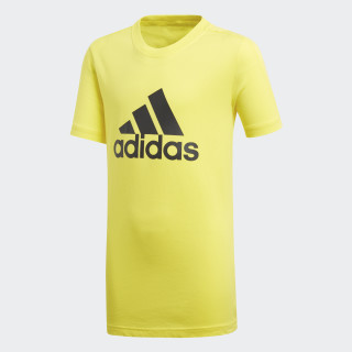 T-shirt Essentials Logo Shock Yellow / Carbon DJ1777