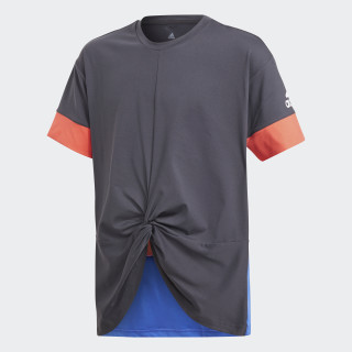 Training Wow Tee Carbon/Hi-Res Blue/Real Coral CF7190