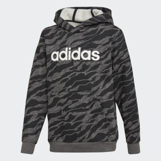 Sweat-shirt à capuche Linear Dark Grey Heather / Black / White DJ1790