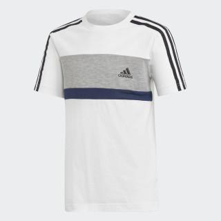 Sport ID Fleece T-shirt White / Mgh Solid Grey / Collegiate Navy DI0205