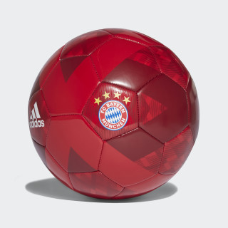 Pelota FC Bayern 2018 FCB TRUE RED/WHITE/STRONG RED/COLLEGIATE NAVY CW4155