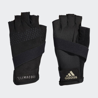 Climacool Gloves Black/Cyber Metallic/Matte Silver CF6140