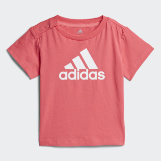 Camiseta Favorite REAL PINK S18/WHITE CF7442