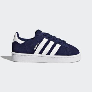 Chaussure Campus Dark Blue/Footwear White/Footwear White BY9598