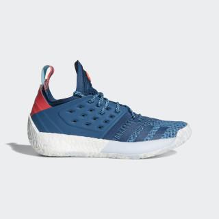 Harden Vol. 2 Shoes Blue Night / Bright Cyan / Shock Red AH2216